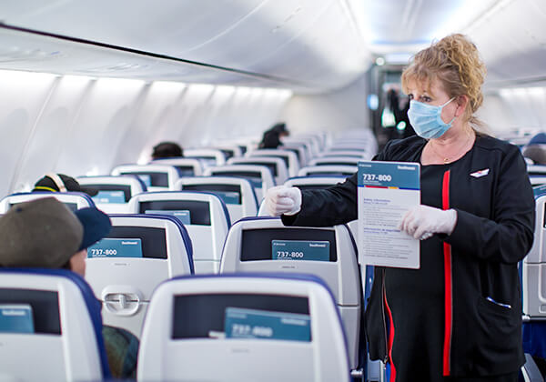 US airlines strengthen anti-coronavirus measures to inspire traveller confidence
