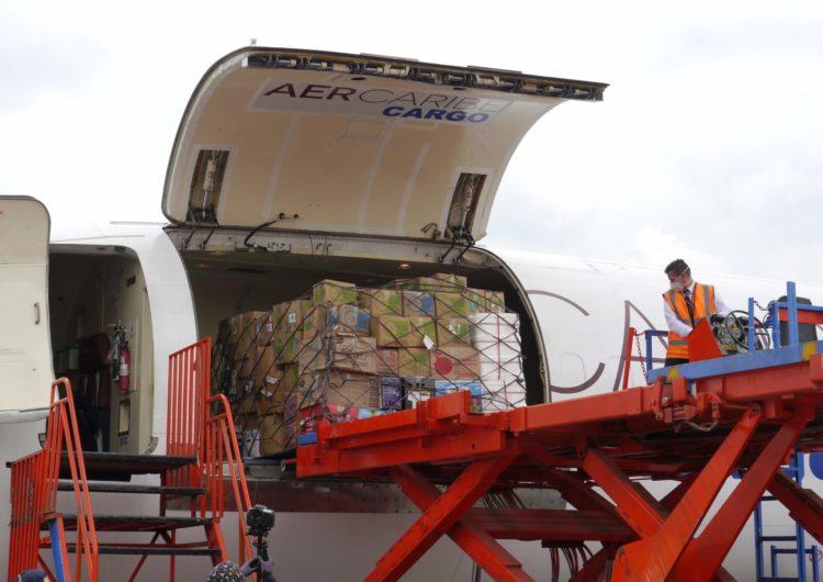AerCaribe continúa realizando vuelos de carga humanitarios en Latinoamérica y el Caribe