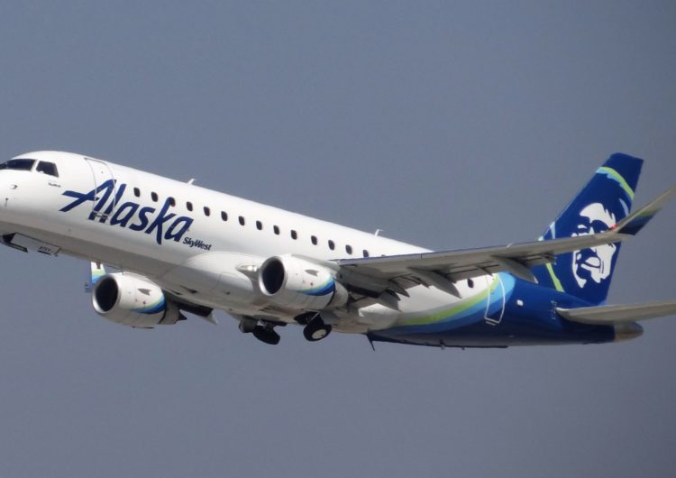 Alaska Airlines begins E175 routes in Alaska