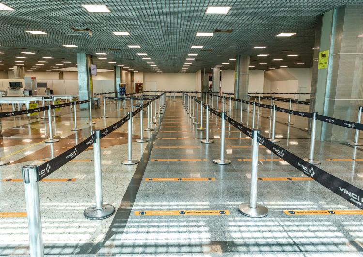 Aeroporto de Salvador volta a realizar check-in e embarque nos pisos superiores