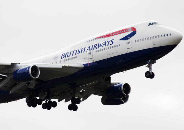 British Airways comienza a retirar a sus B747
