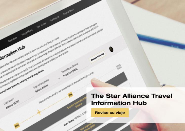 Star Alliance te permite planificar con confianza en tiempos de COVID-19