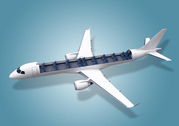 Embraer desarrolla soluciones para transportar carga en la cabina de aeronaves comerciales