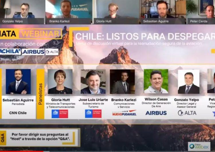 Industria Aérea de Chile está lista para despegar y pide apoyo al Gobierno para poder hacerlo