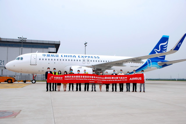 China Express recibe su primer Airbus A320neo