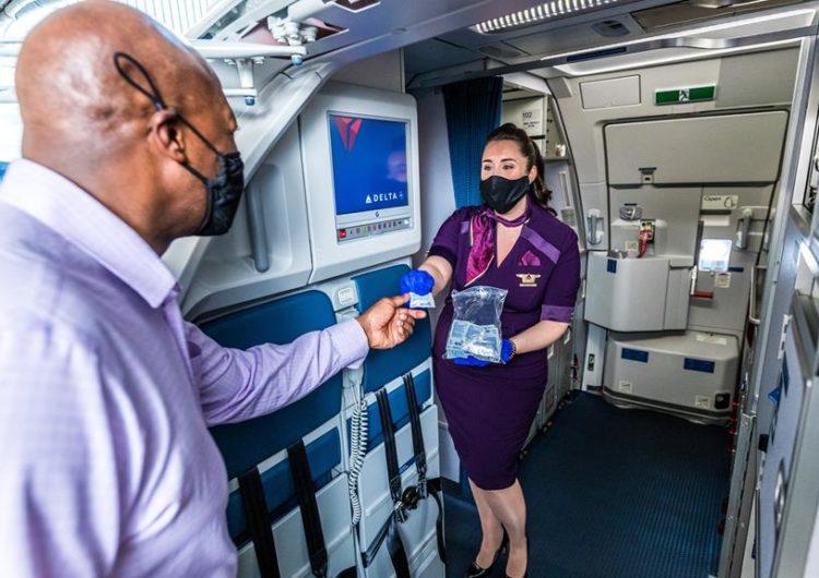 Vuelos de Delta a Europa con tres test para evitar cuarentena