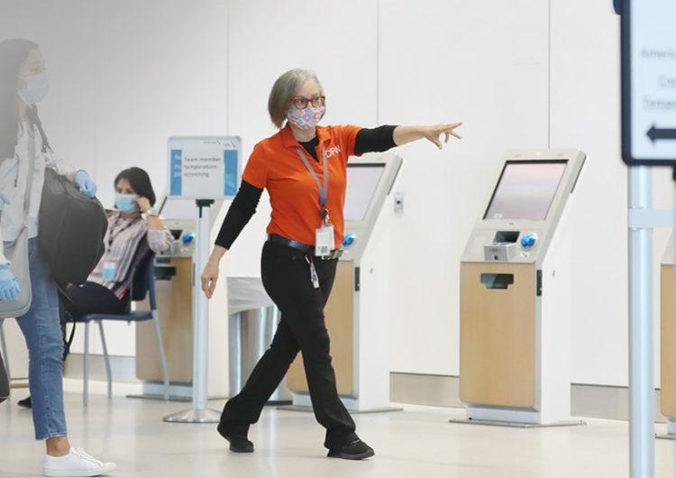 Aeropuerto Internacional Dallas Fort Worth da a conocer su plan de control para pandemia