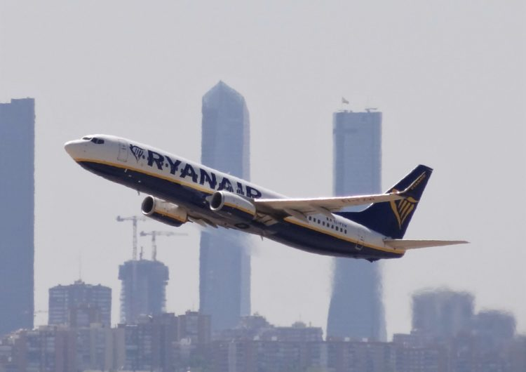 Ryanair operará más de 1.000 vuelos diarios en Europa a partir de hoy