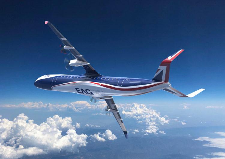 Presentan primer avión híbrido de más de 70 asientos