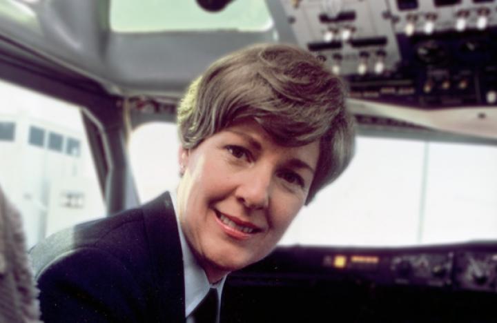 Fallece la primera mujer piloto de una aerolínea regular de EEUU