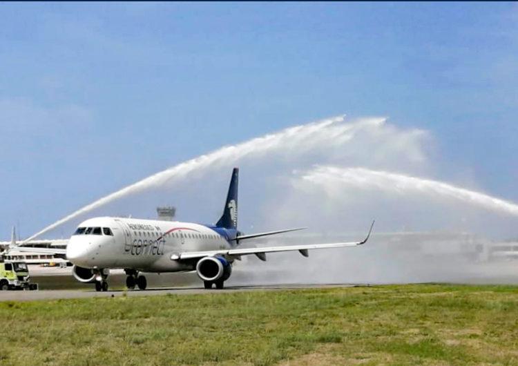 Aeroméxico volvió a República Dominicana