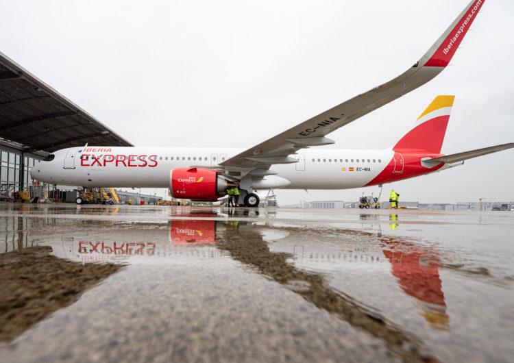 Iberia Express recibió el segundo A321neo