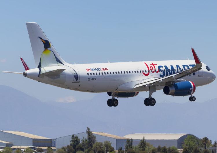 JetSmart volará a El Calafate desde el 21 de enero