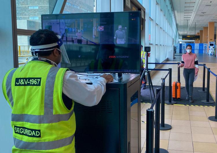Perú: LAP implementa cámaras termográficas en sus protocolos de ingreso