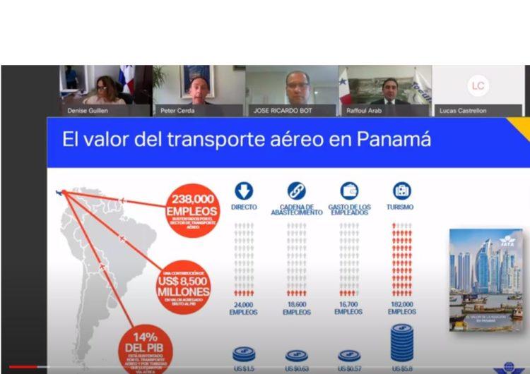 IATA: Panamá se encuentra listo para reactivar el transporte aéreo