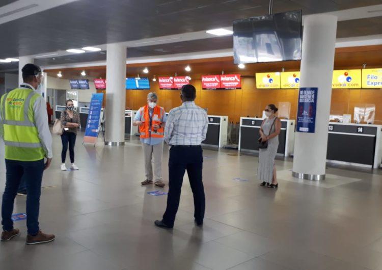 Colombia: Aeropuerto de Santa Marta recupera 89.5% de viajeros