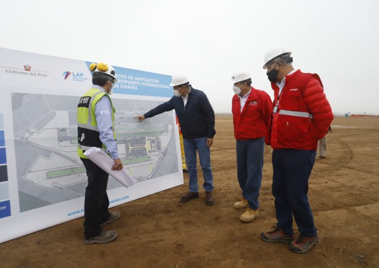 Perú: Segunda pista de aterrizaje del aeropuerto Jorge Chávez estará lista el 2022