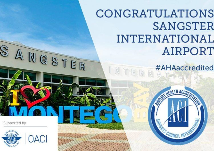 MBJ Airport First in the Caribbean to Obtain Airport Health Accreditation