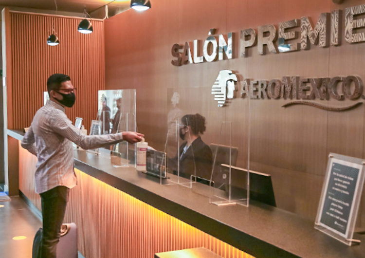 Aeroméxico continúa reapertura de Salones Premier
