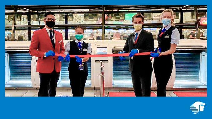 Moderniza Aeroméxico sistema check-in en Amsterdam