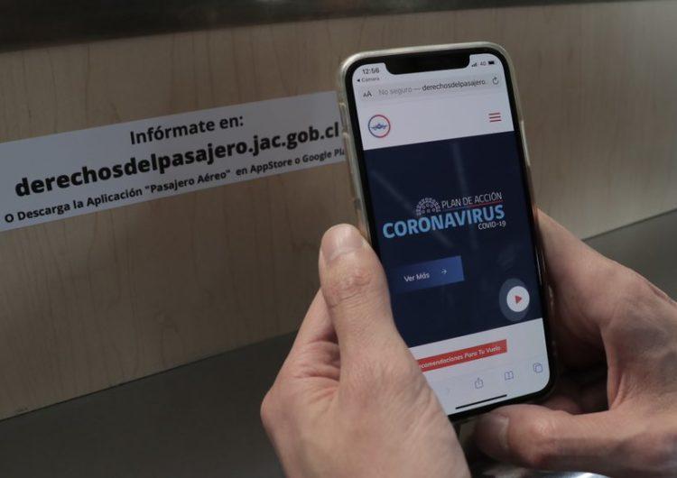 Chile: MTT lanza app Pasajero Aéreo con medidas y recomendaciones sanitarias para viajes en avión