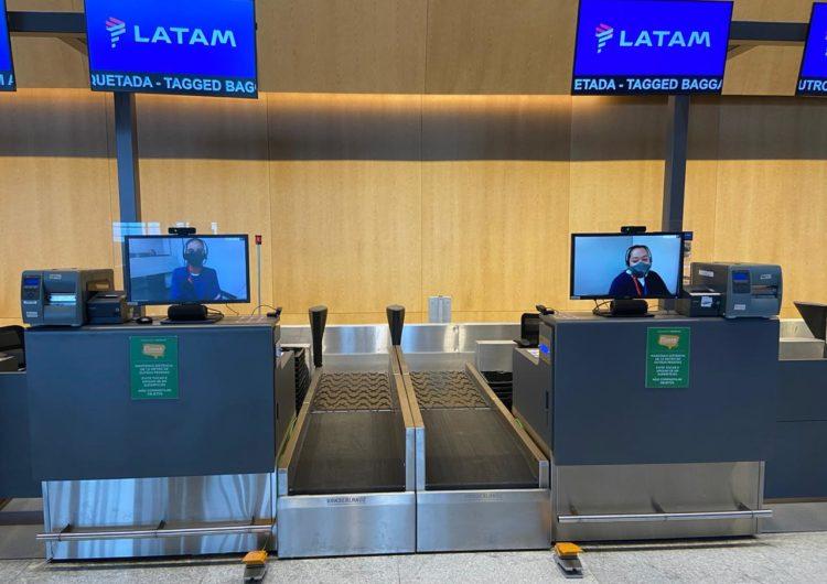 LATAM implementa em Florianópolis atendimento remoto no check-in