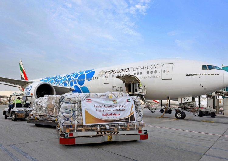 Emirates lanza un puente aéreo entre Dubái y el Líbano para brindar el apoyo a Beirut