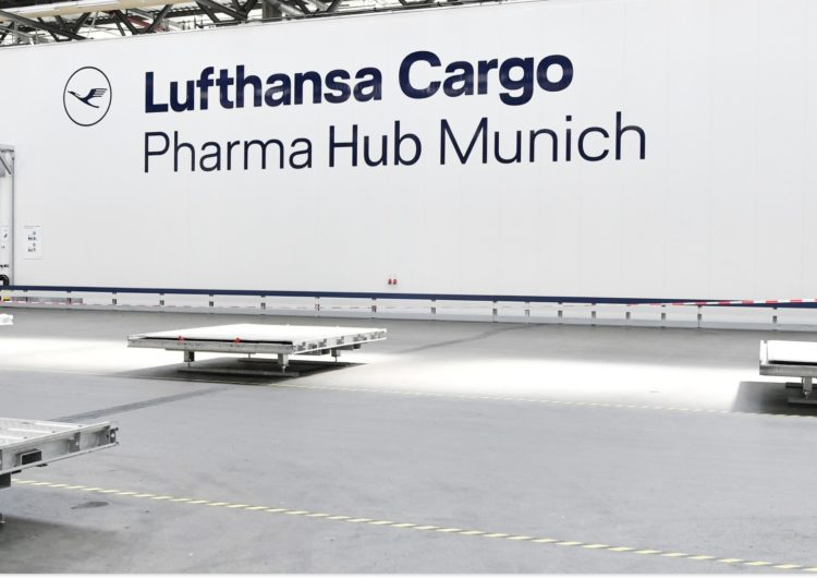 Lufthansa Cargo opens new pharma hubs as airfreight prepares for a vaccine