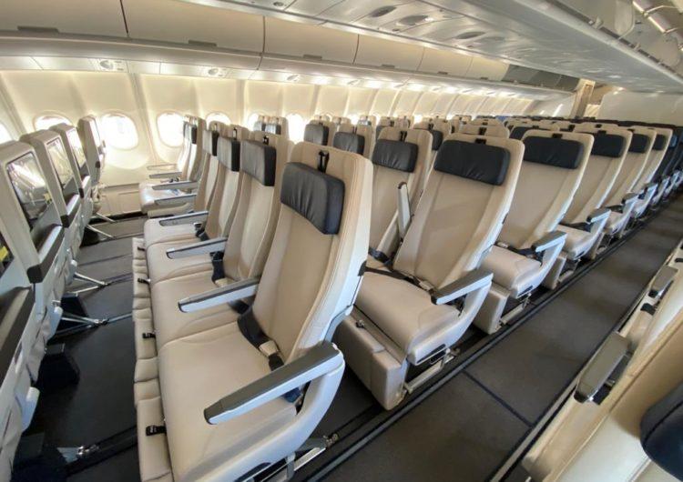Azul finaliza implementação de Skysofa em seu Airbus A330-900neo