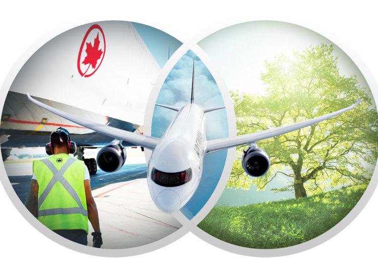 Air Canada continúa con su compromiso ambiental