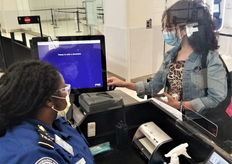 TSA Reports Single-Day High in Passenger Screenings Since COVID-19 Began