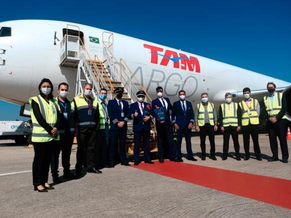 Latam Cargo inaugura sua nova rota cargueira Miami – Florianópolis