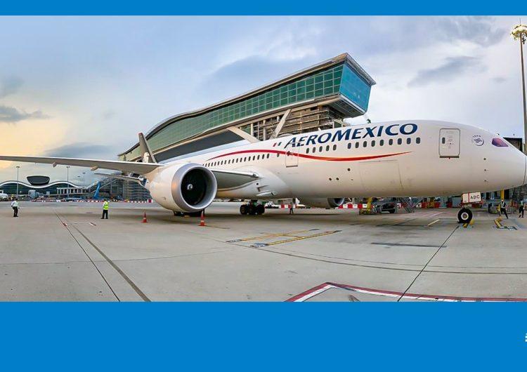 Aeroméxico llega por primera vez a Hong Kong