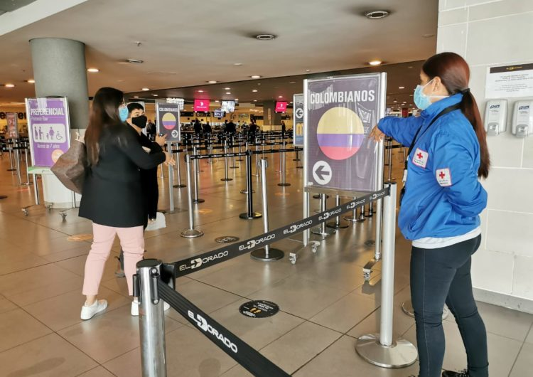 Colombia arrancó 2021 con el 55% de los pasajeros de 2020