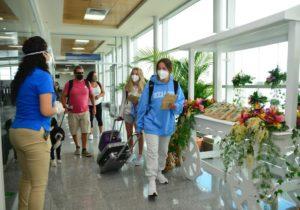 Costa Rica reporta un repunte gradual de turistas al finalizar el 2020