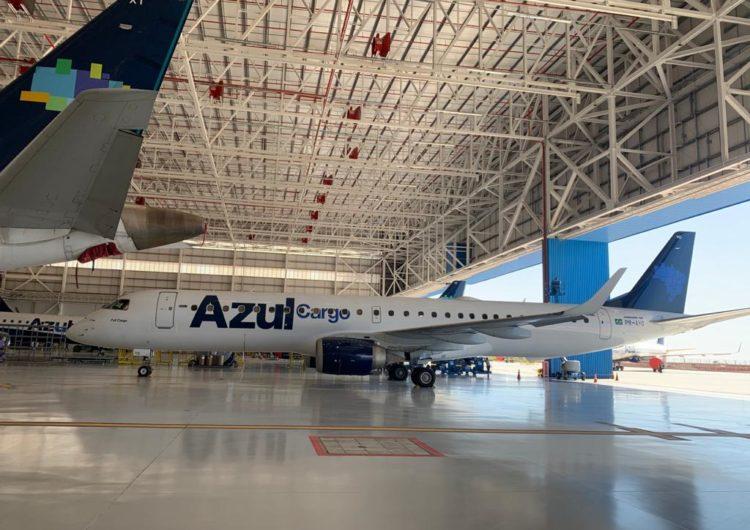 Azul Cargo Express inova e recebe aprovação para voar jatos Embraer como cargueiro