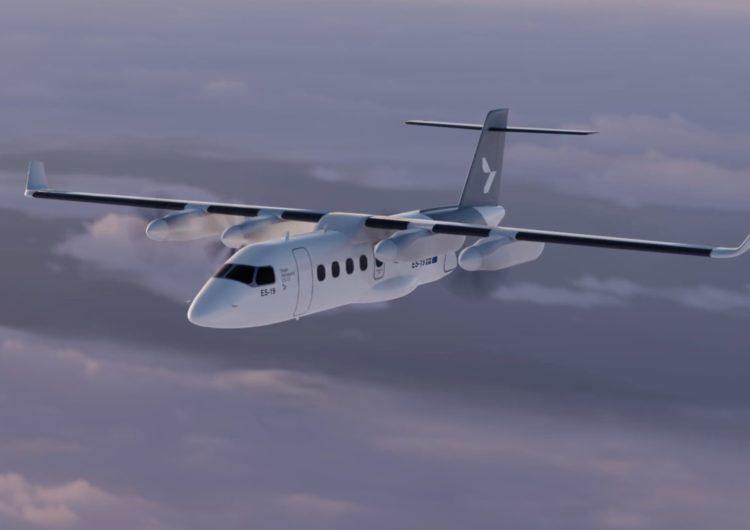 El avión eléctrico sueco para 19 pasajeros despegará en 2024