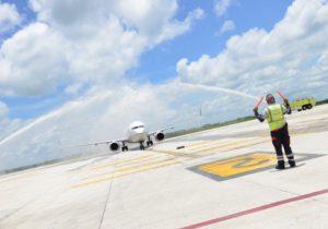 Guanacaste Aeropuerto crece en la crisis