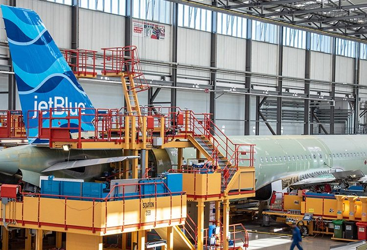 JetBlue presentó el diseño que llevará la cola de los nuevos A321LR