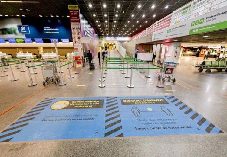 Pesquisa do MInfra indica confiança dos passageiros em medidas sanitárias no setor aéreo