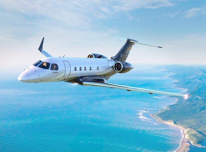 Embraer recebe a certificação da ANAC e da FAA de Sistema de Orientação por Visão Sintética para Praetor 500 e Praetor 600