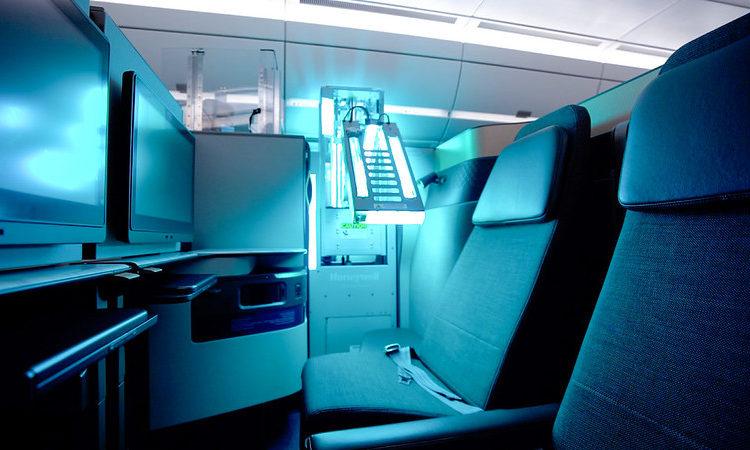 Qatar Airways se convierte en la primera aerolínea a nivel mundial en operar la tecnología de limpieza de cabina ultravioleta de Honeywell