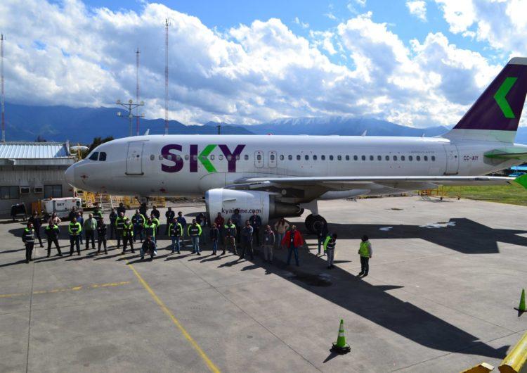 SKY se transforma en la primera aerolínea low cost de América en contar con una flota 100% amigable con el medio ambiente