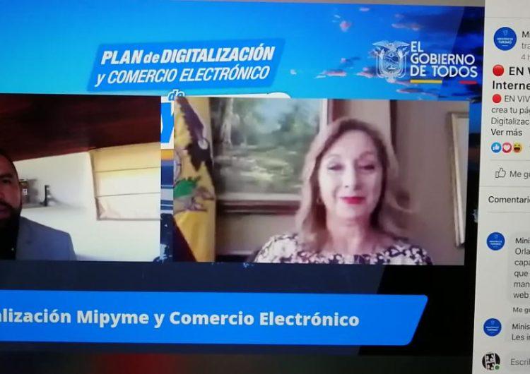 Turismo de Ecuador impulsa la digitalización de las pymes