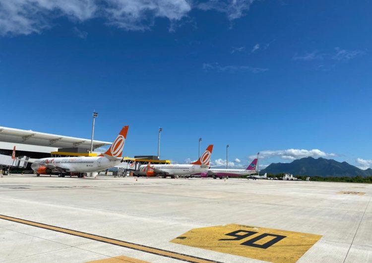 Aeroporto de Vitória recebe o maior número de passageiros desde o início da pandemia