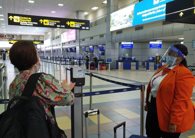 Panamá: Aeropuerto de Tocumen se reactiva con 80 operaciones diarias