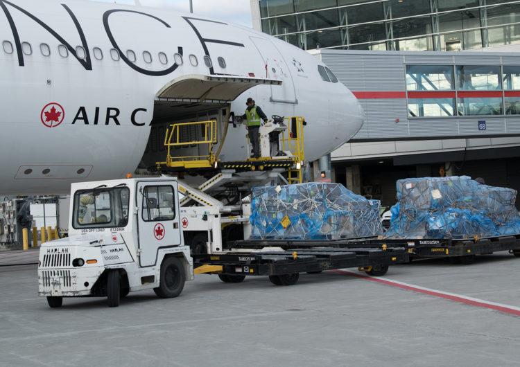 Air Canada concretó 3000 vuelos de carga en 2020