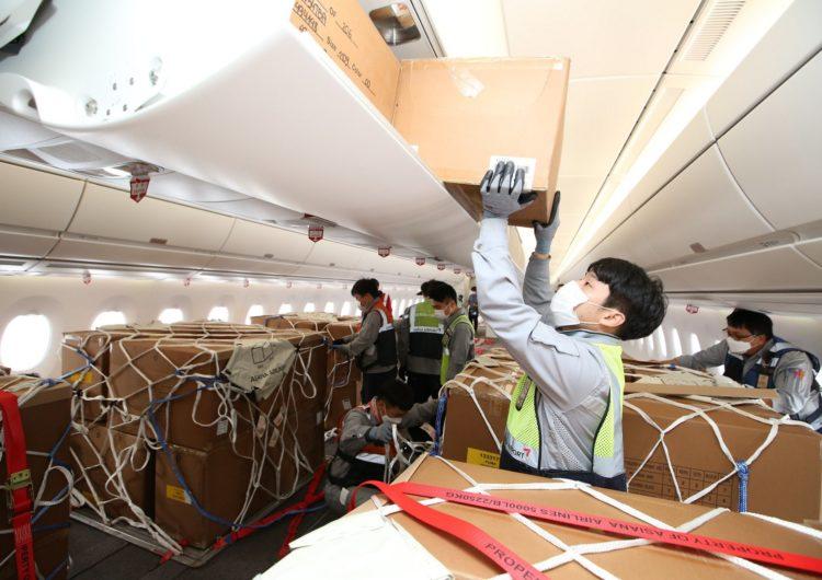 Finaliza la primera conversión carguera de la cabina de un A350