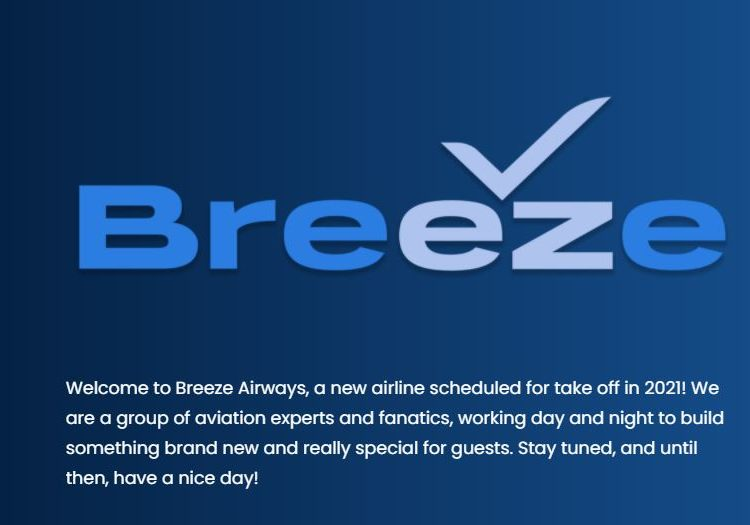 Se posterga el lanzamiento de Breeze Airways