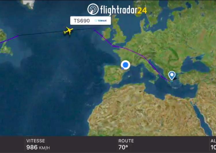 Air Transat logra récord mundial a bordo de un A321LR entre Montreal y Atenas